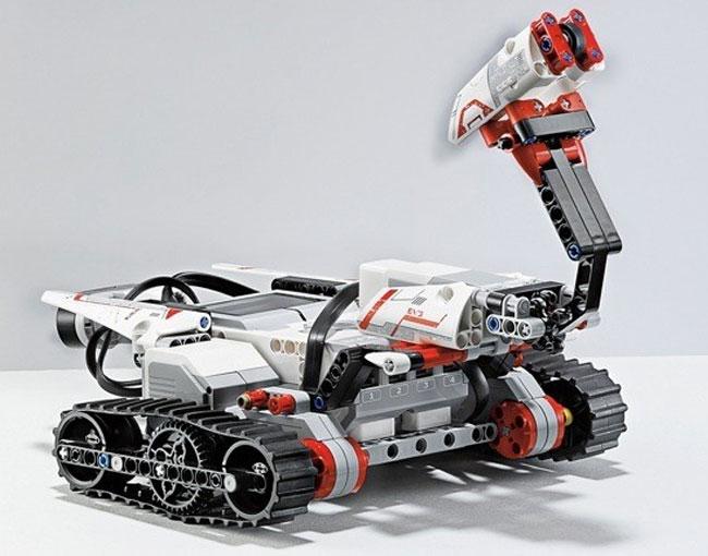 Arbeitsroboter. (Foto: LEGO)