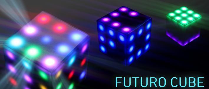 Ein leuchtender Würfel aus der Zukunft. Oder so. (Foto: Princip Interactive)