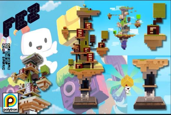 FEZ-Welt aus LEGO. (Foto:
