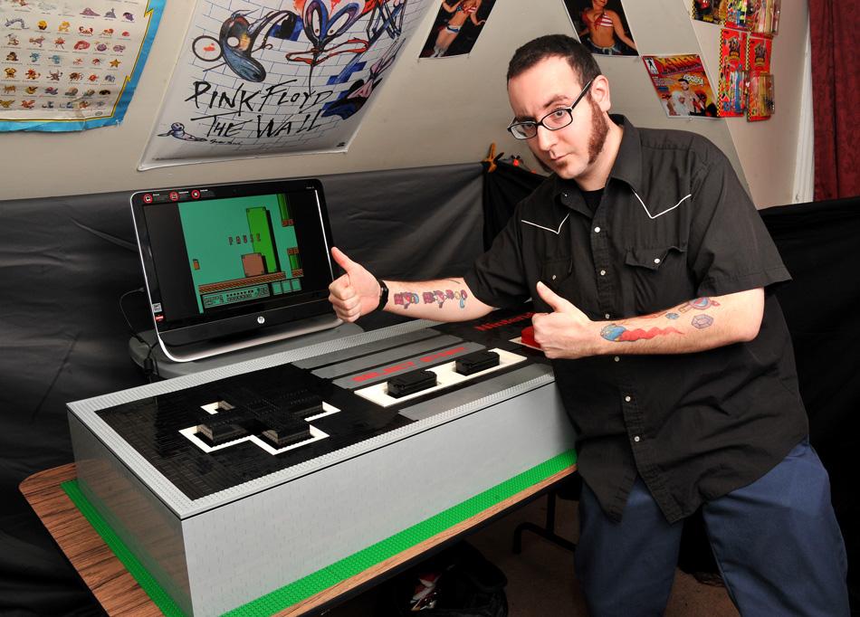 Der riesige NES-Controller. (Foto: vonbrunk.tumblr.com)