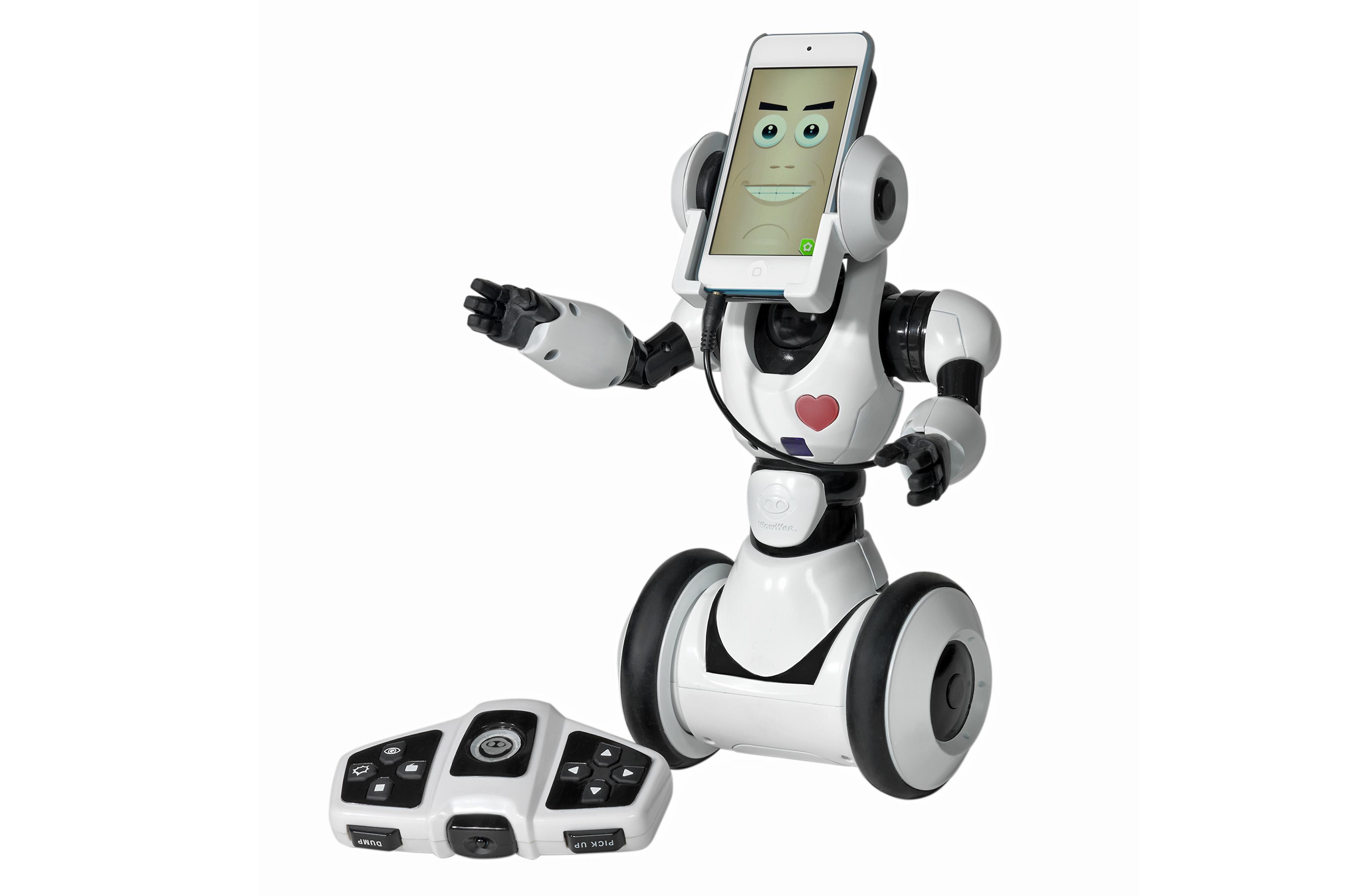 Der Roboter mit Smartphone-Hirn. (Foto: Photopool / Spielwarenmesse eG)
