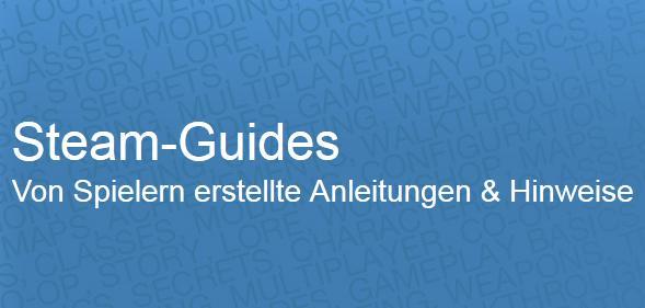 Steam - jetzt mit Guides. (Foto: Valve)