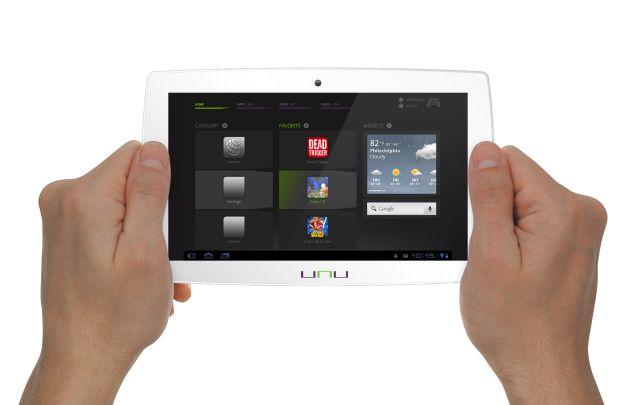 Das Tablet vom snakebyte unu-System. (Foto: snakebyte)