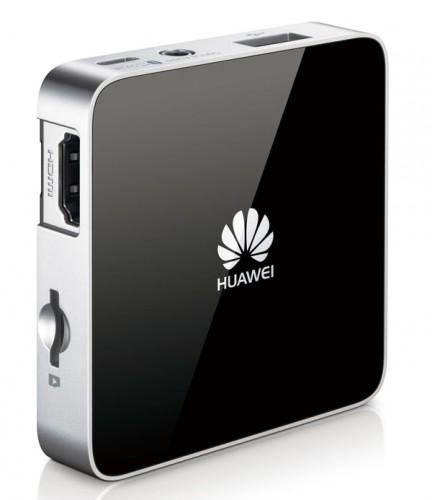 Ungefähr so groß wie Apple TV. Welch Zufall. (Foto: Huawei)