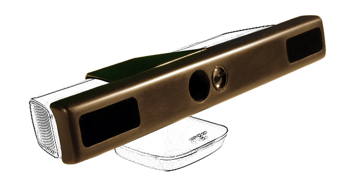 So sieht der Aufsatz für Kinect aus. (Foto: Kickstarter)