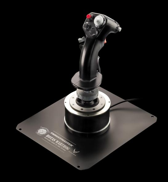 hotas warthog flight stick controller f r flugprofis ab mai im handel. Black Bedroom Furniture Sets. Home Design Ideas