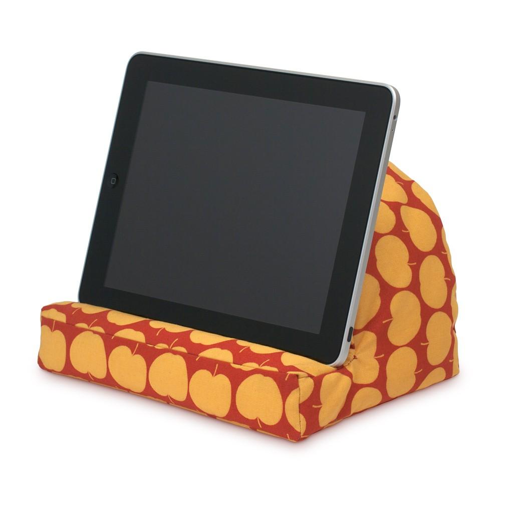 Eine Art Kissen fürs Tablet. (Foto: Team & Marke)