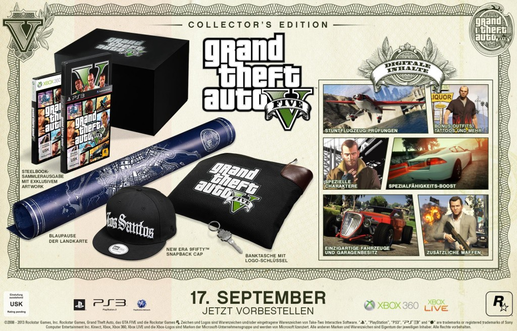 Collector's Edition von GTA V. (Foto: Rockstar Games)