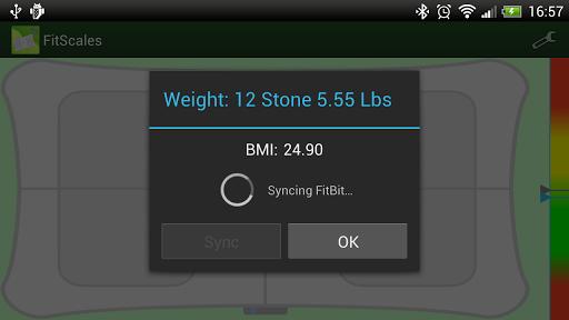 Die App FitScales lässt euch das Balance Board am Smartphone nutzen. (Foto: Google Play)