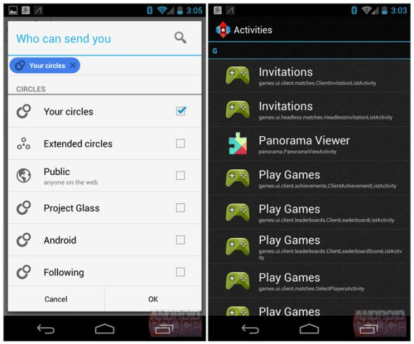 So wird Google Play Games wohl aussehen. (Foto: Android Police)