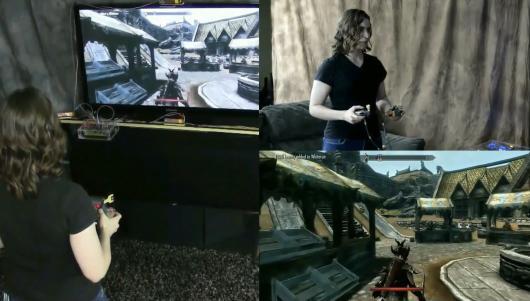 Ein neuartiger Controller: zwei Teile und eine enorme Genauigkeit bei der Bewegungssteuerung. (Foto: Youtube)