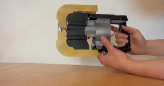 Das ist der funktionierende Plasma Cutter. (Foto: Youtube)