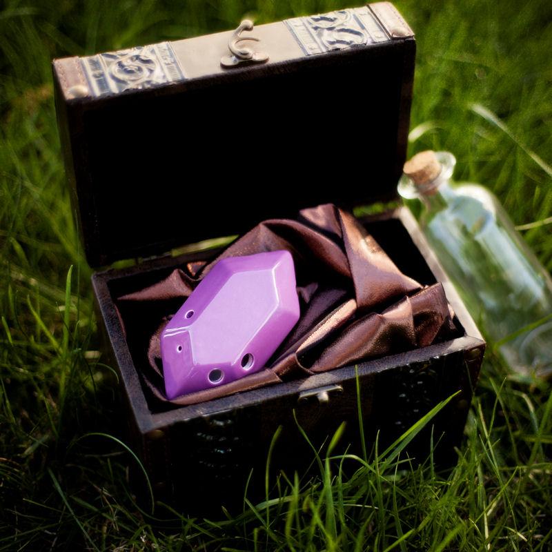 Eine Okarina wie aus Zelda - für wenig Geld. (Foto: stlocarina.com)