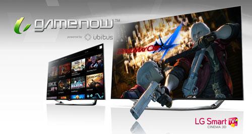 Game Now bringt Spiele auf Smart-TVs (Foto: LG)