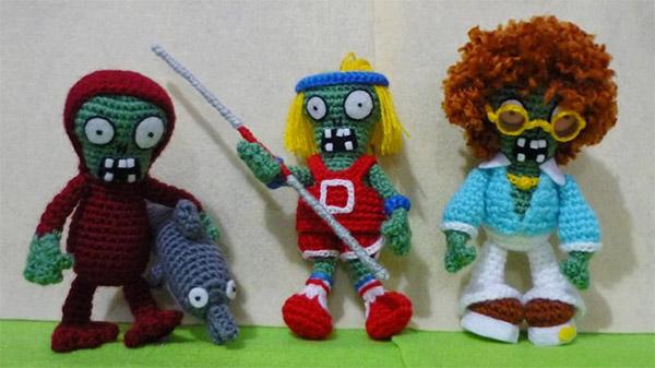 Download image Amigurumi Plants Vs Zombies Foto Etsy PC, Android ...