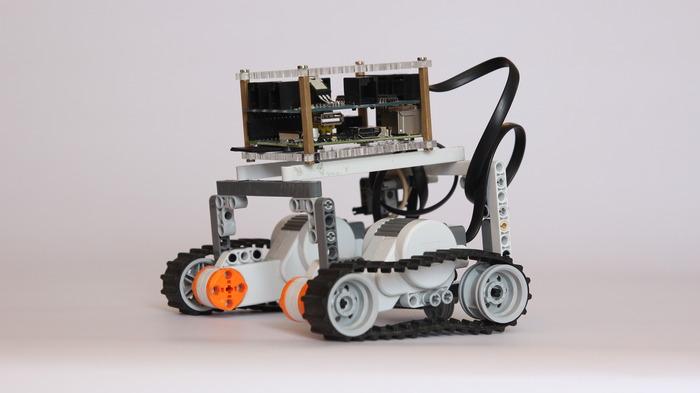 Ein funktionierender Panzer mit Raspberry Pi-Gehirn. (Foto: Kickstarter)