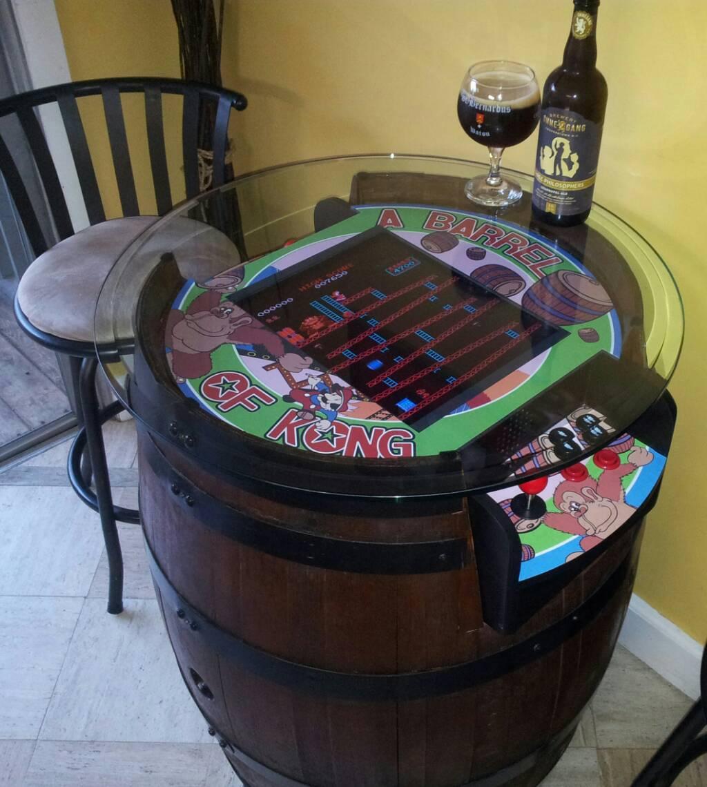 Artikel Lesen Donkey Kong Tisch Foto Arcadecontrols