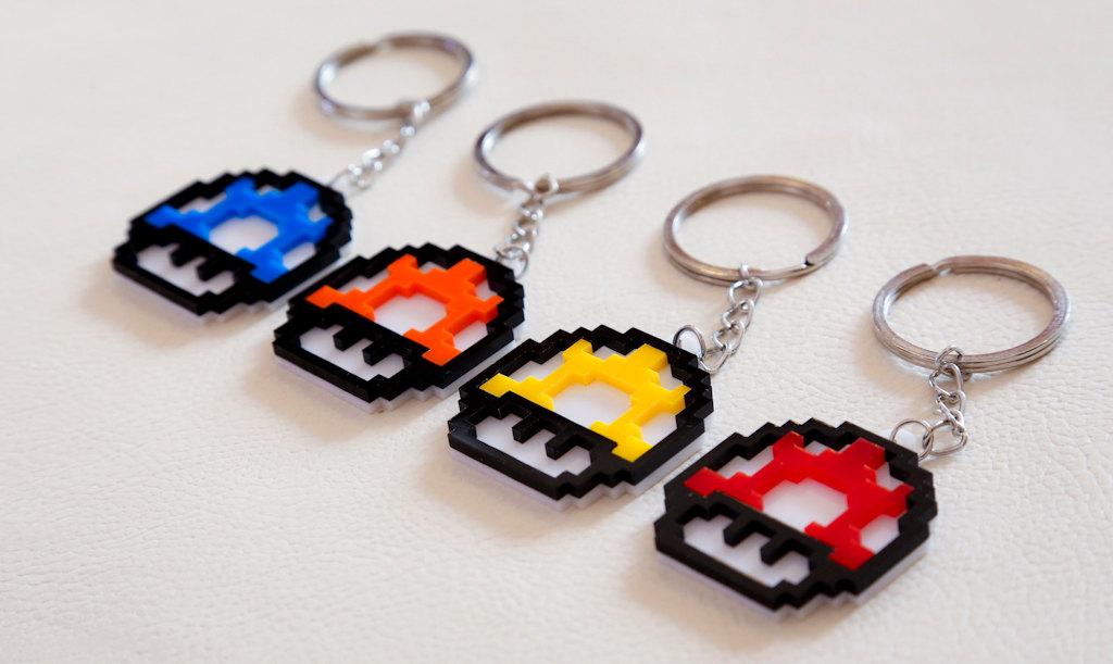 Schlüsselanhänger sind auch schön. (Foto: Etsy)