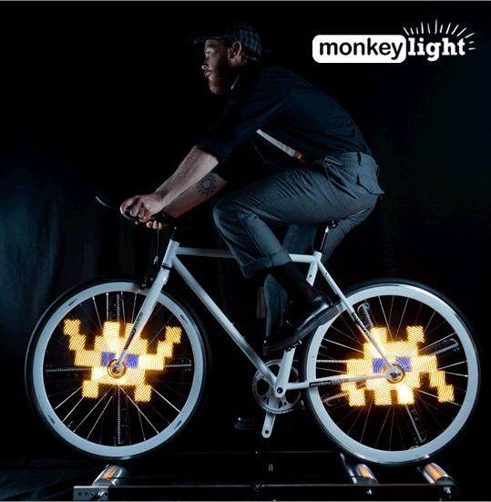 Space Invaders infiltrieren euer Bike (Foto: Kickstarter.com)