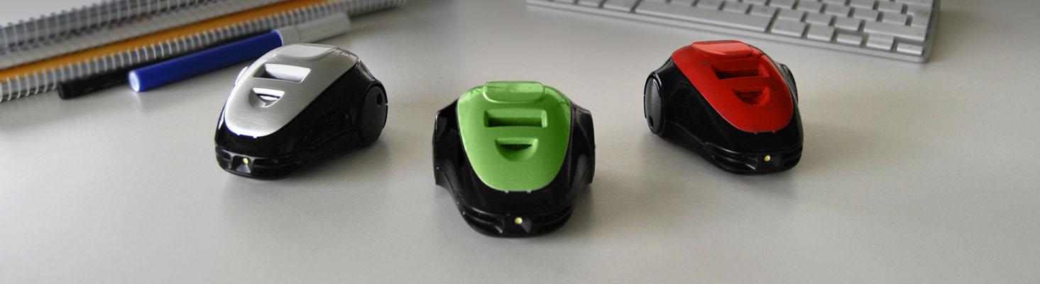 Staubsauger? Ferngesteuerte Fahrzeuge? Fast... (Foto: mowayduino.com)