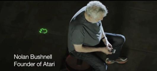 Sogar der Atari-Gründer konnte überzeugt werden. (Foto: Youtube)