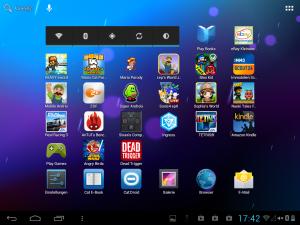 Eine standardisierte Android-Oberfläche eben. (Foto: GamingGadgets.de)