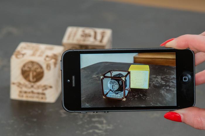Seltsame Würfel werden zu physikalischen Elementen. (Foto: Kickstarter)