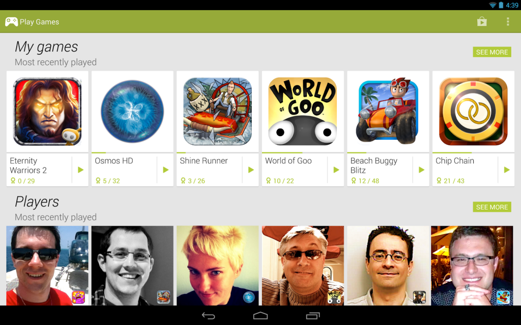 Multiplayer-Mitspieler finden? Tja, so gesehen noch nicht möglich. (Foto: Google)
