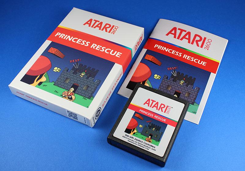 Ein brandneues Atari 2600-Videospiel. (Foto: Atari Age)