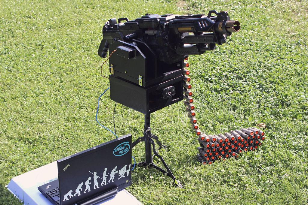 Selbst gebaut. Was die Polizei zu so einem Spielzeug im Vorgarten sagen würde? (Foto: Instructables.com)