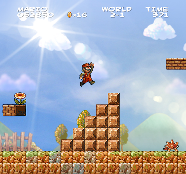 Super Mario Bros. in HD (Foto: jinndevil.tumblr.com