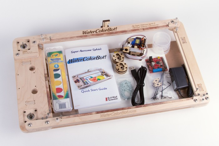 Das enthält das Paket für knapp 300 Dollar. (Foto: Kickstarter)