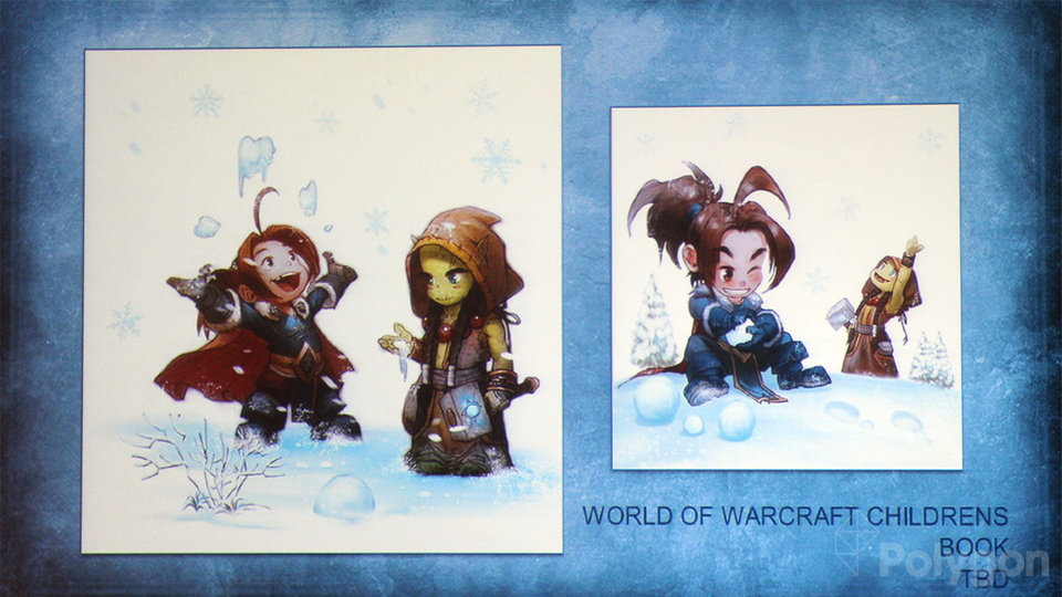 Erste Szenen aus dem Warcraft-Kinderbuch. (Foto: polygon)
