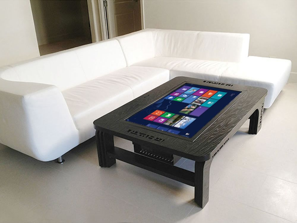 Giant Coffee Table Touchscreen: Der Wohnzimmertisch mit Windows 8