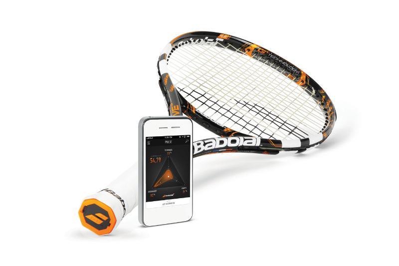 Der erste Tennisschläger, der Daten sammelt (Foto: babolat.com)