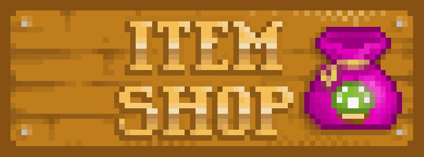 Pixel-Look! War doch klar, dass das Logo so aussehen muss. Oder? (Foto: The Item Shop)