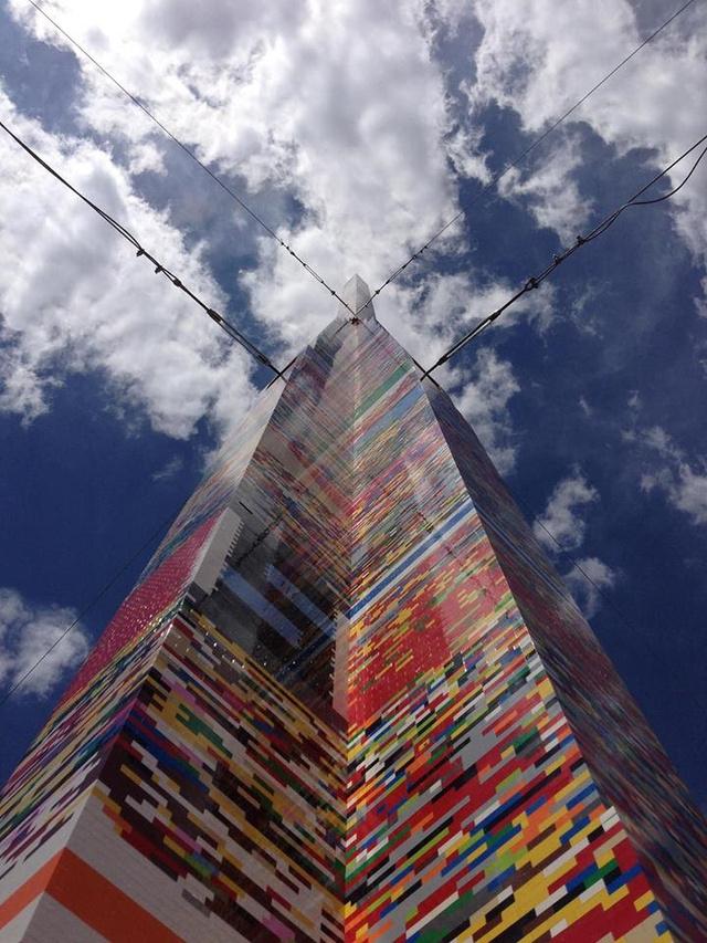 Der höchste Legoturm der Welt (Foto: delawareonline.com)