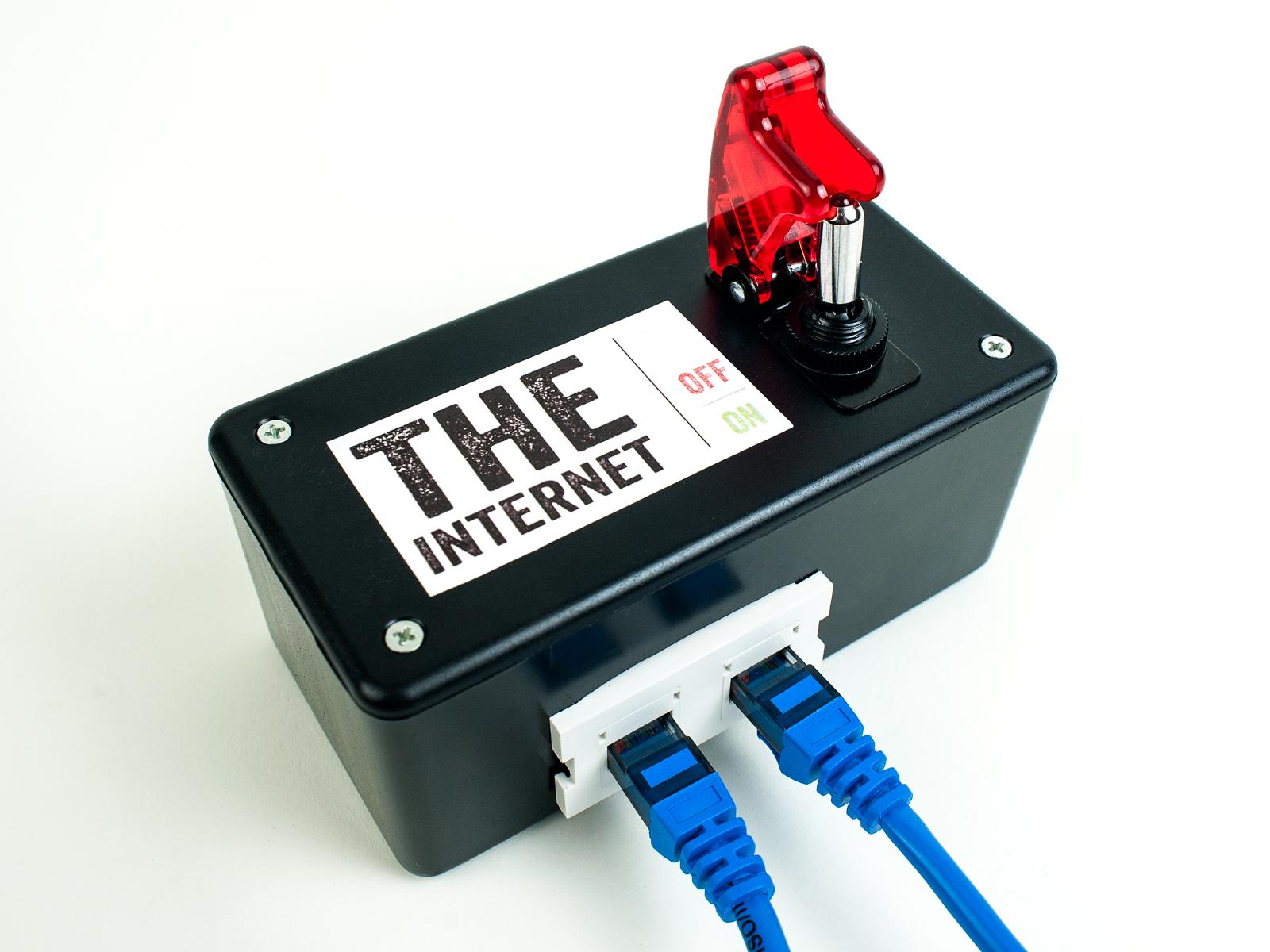 Schaltet das Netzt AUS! (Foto: makezine.com)