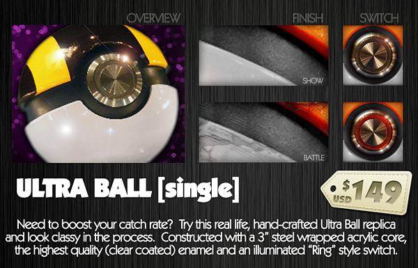 Der Ultra-Ball. (Foto: Pallet Town Exports)