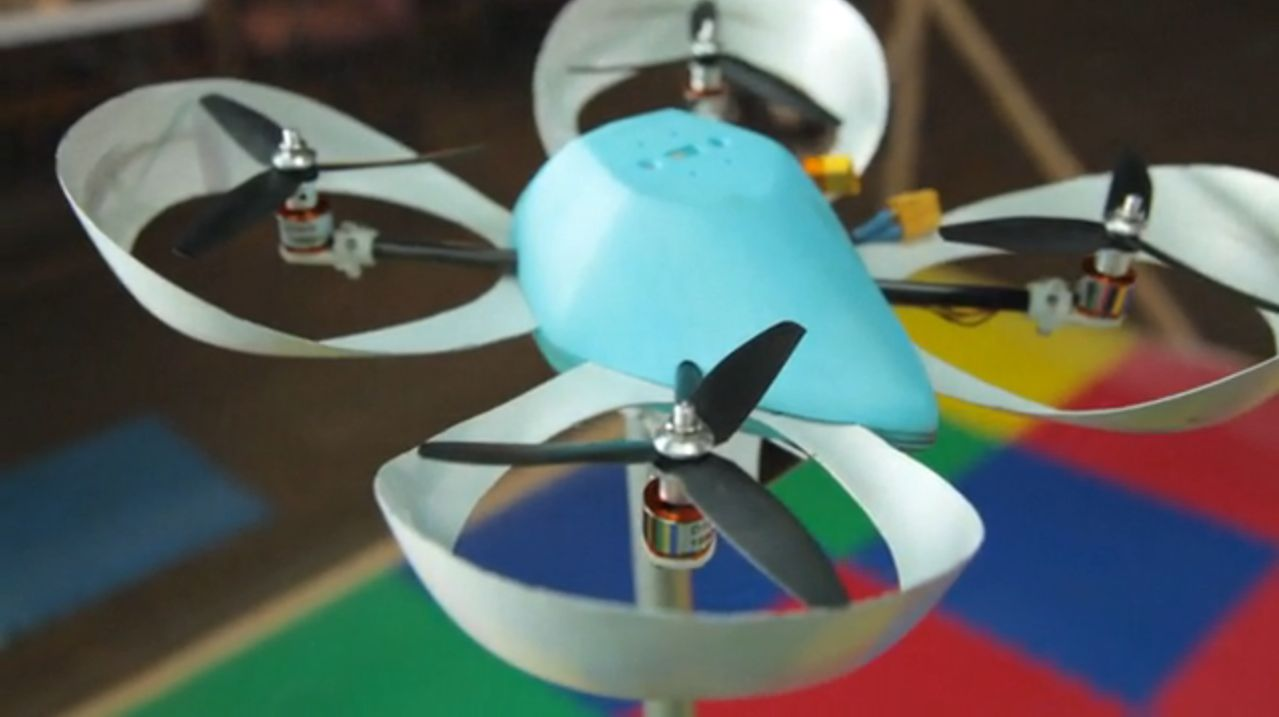 Spiri fliegt mit einem Linux-basierten System (Foto: Kickstarter.com)