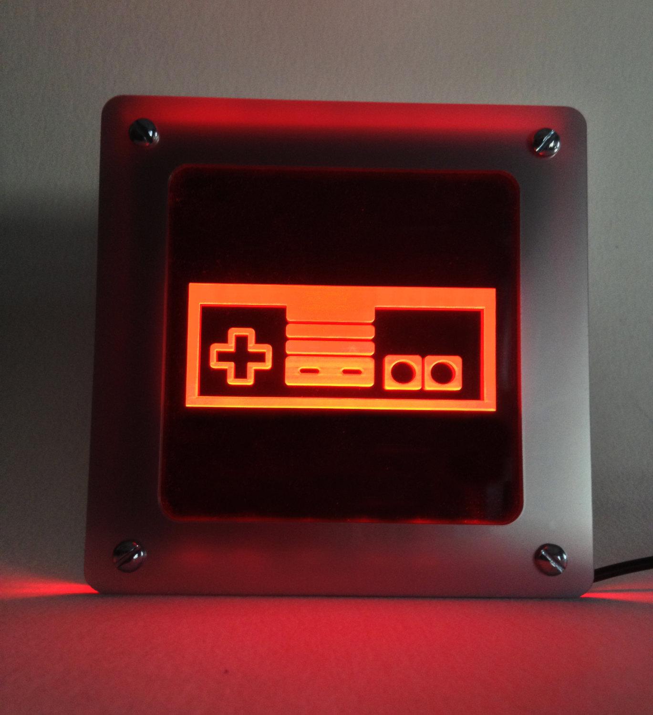 Schöner Wohnen mit der Nintendo Controller LED Light( Foto: Etsy.com)