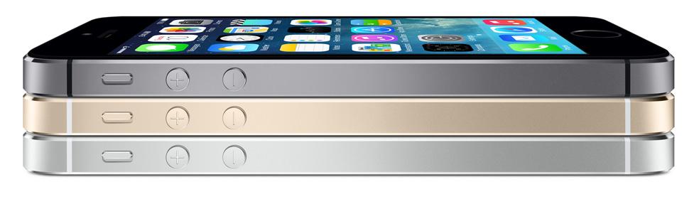 In drei Farben erscheint das iPhone 5s. (Foto: Apple)