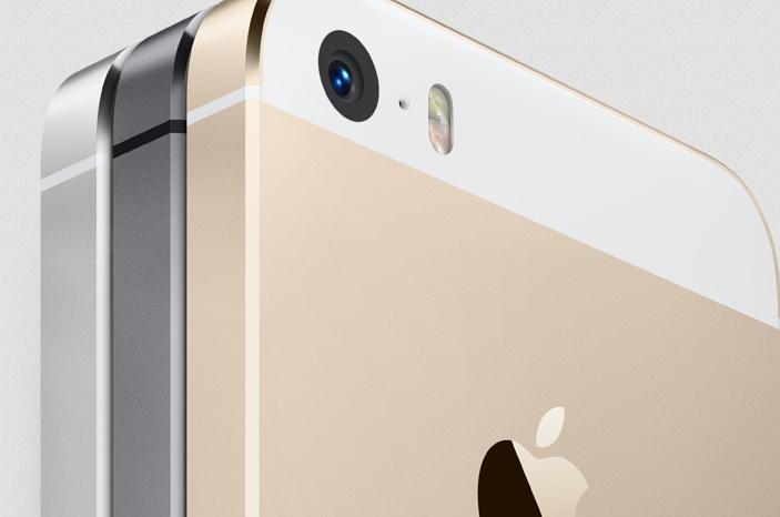 Das neue iPhone 5s. (Foto: Apple)