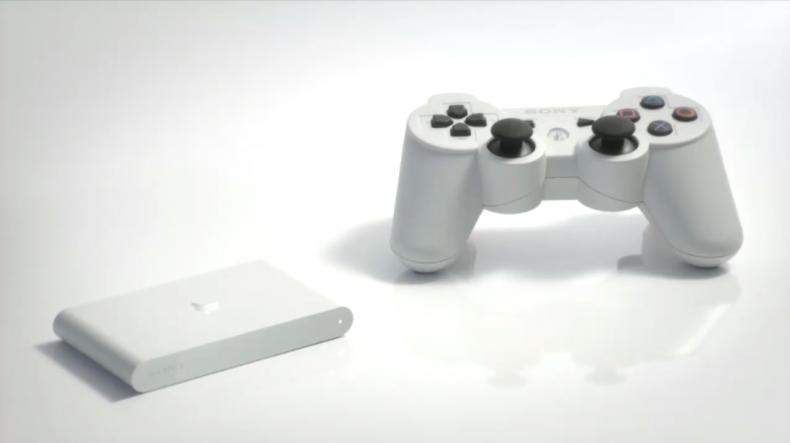 Klein und auf Wunsch mit riesigem DualShock-Controller. (Foto: Sony)