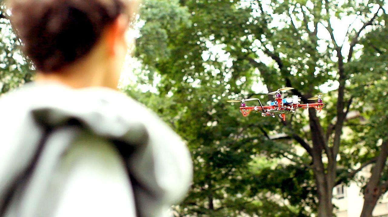 Drohne, weise mir den Weg! (Foto: Skycall)
