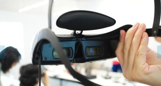 Die neue Sony-Brille. (Foto: Engadget)
