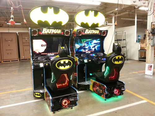 Einmal selbst ins Batmobil steigen... (Foto: arcadeheroes.com)