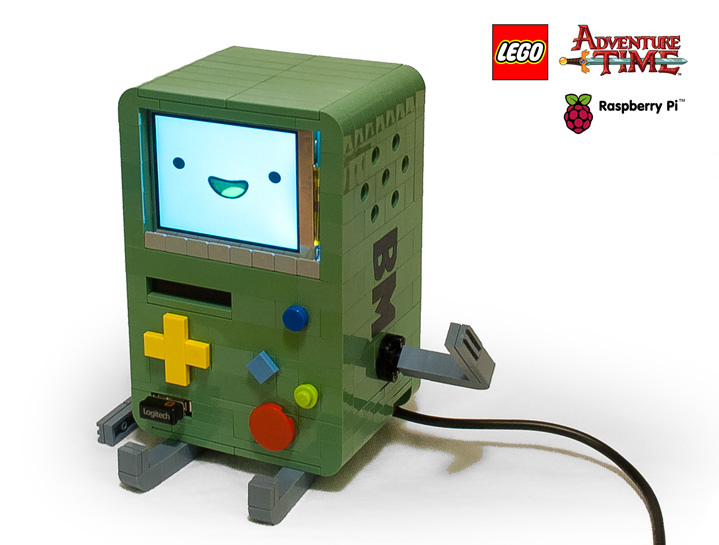 Der Lego Adventure Time BMO Raspberry Pi (Foto: flickr)