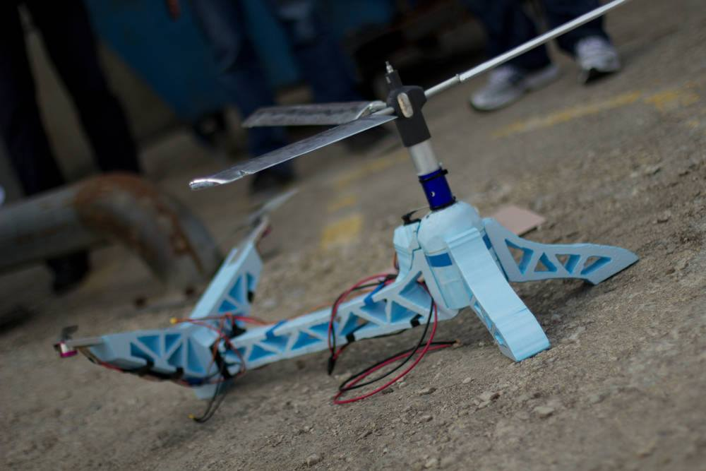 Eines der zahlreichen seltsamen Dyson-Fluggeräte (Foto: Dyson)