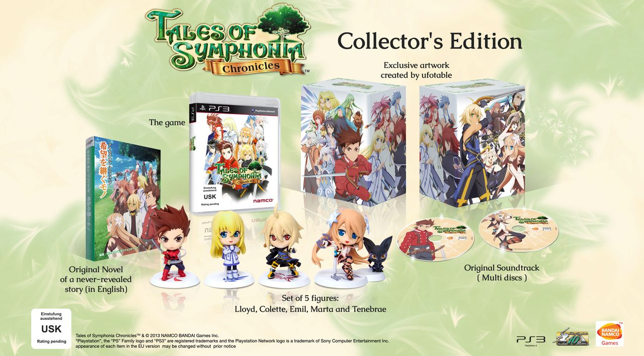 Der Inhalt der Collector's Edtion (Foto: Namco Bandai)